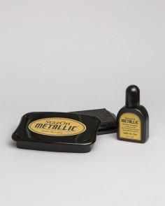 """Encre Premium """"Or Métallique"""""""
