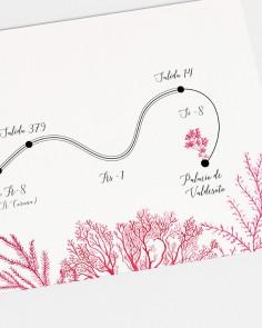 """Carte """"Récifs coralliens"""""""