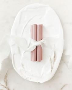 barras de lacre rosa nude