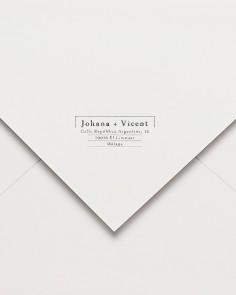 sellos marco postal caucho